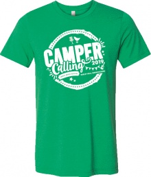 Camper Calling 2019 T-Shirt - Collect on the day