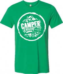 Camper Calling 2020 T-Shirt - Collect on the day